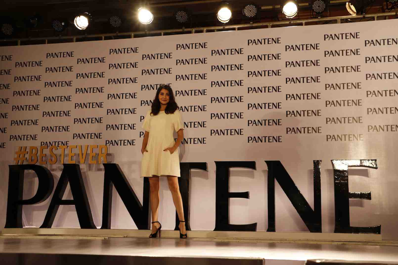 Anushka Sharma Launches Best Ever Pantene