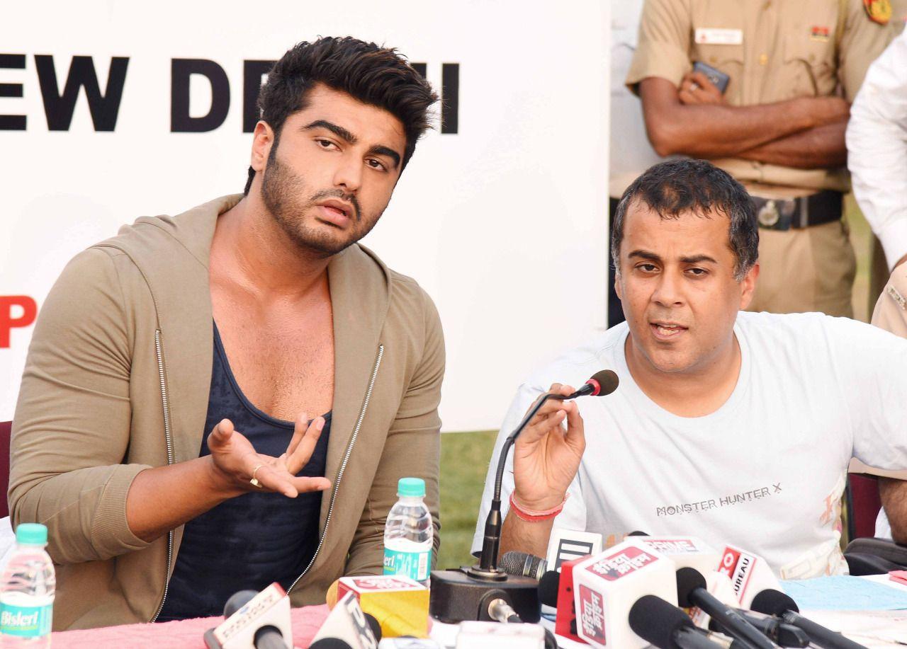 Arjun Kapoor & Chetan Bhagat