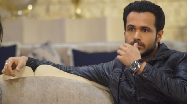 Azhar: Emraan Hashmi on the sets of Bahu Hamari Rajni Kant