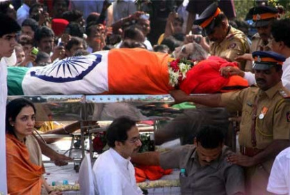 Bal Thackeray Final Journey Photo Gallery