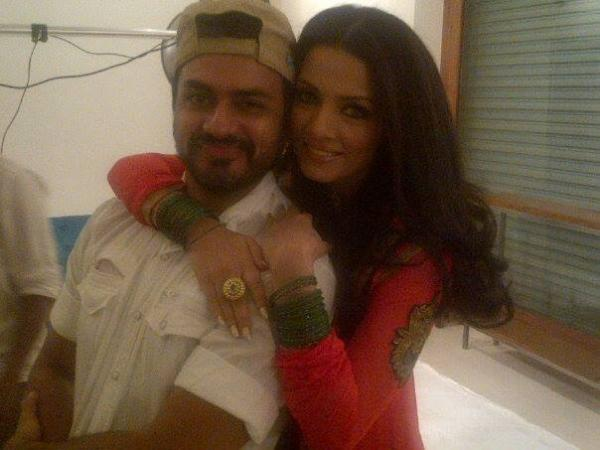 Behind The Scenes of Celina Jaitly Jashn Shoot