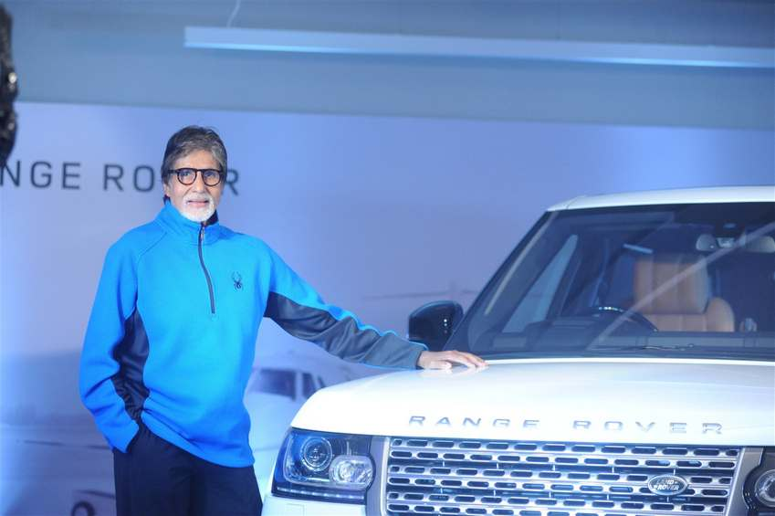 Big B Purchase New Car Range Rover Autobiography LWB
