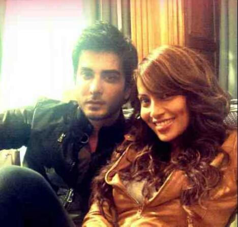 Bipasha Basu and Imran Abbas on The Sets of Movie Creature