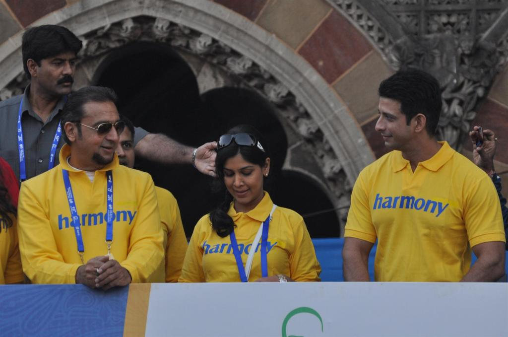 Bollywood Celebrities at The 10th Standard Chartered Mumbai Marathon Gallery