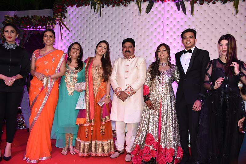 Bollywood Celebrities At Awadhesh Dixits 25th Wedding Anniversary in Indore