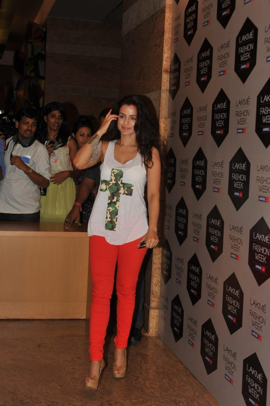 Ameesha Patel - Lakme Fashion Week 2012 Day 5 Photo
