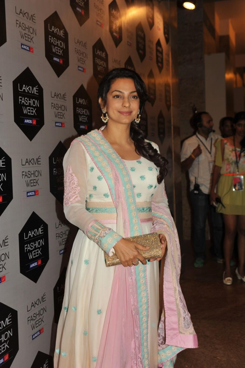 Juhi Chawla - Lakme Fashion Week 2012 Day 5 Photo