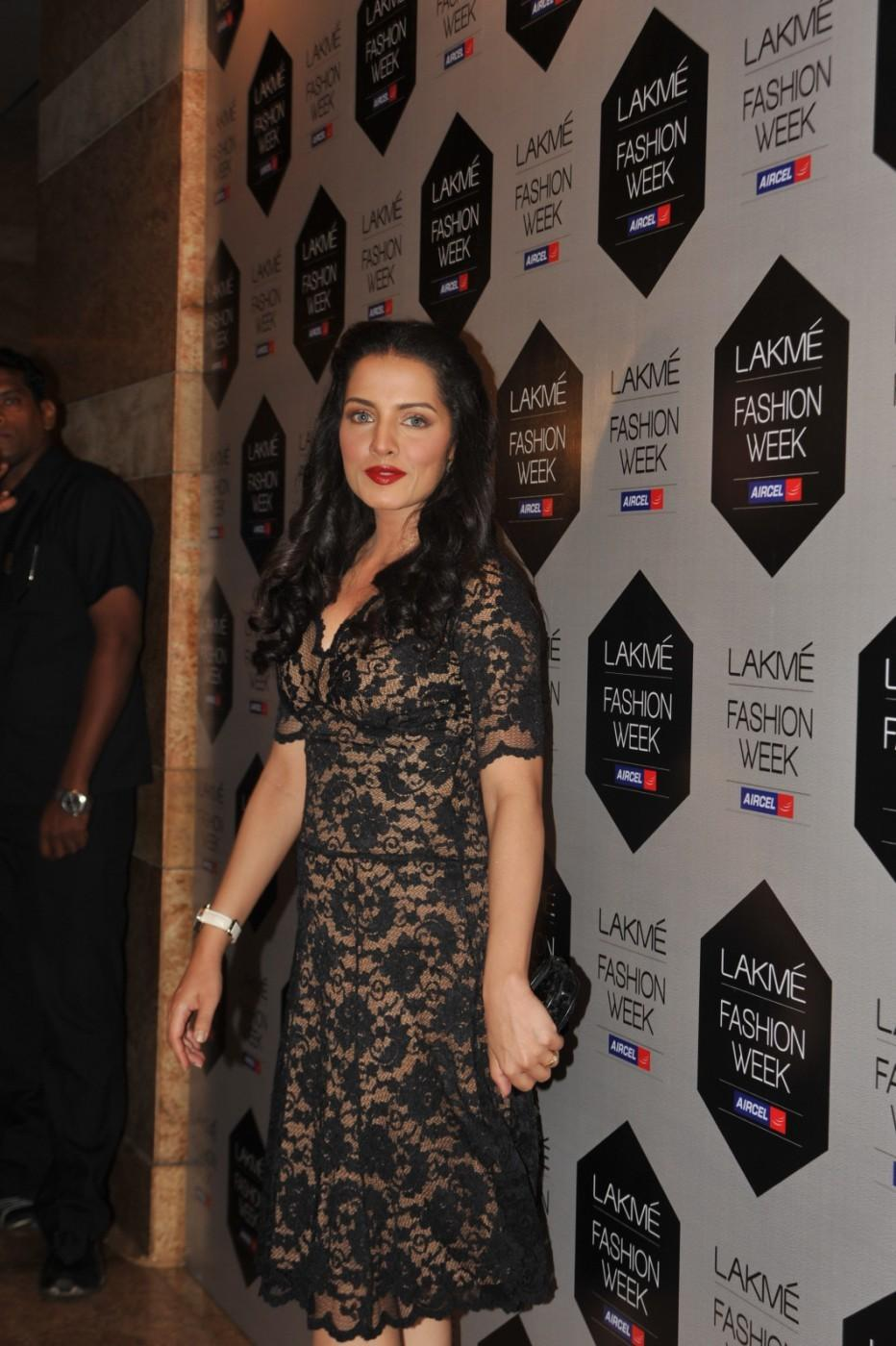 Lakme Fashion Week 2012 Day 5 Photo - Celina Jaitley Cute Look