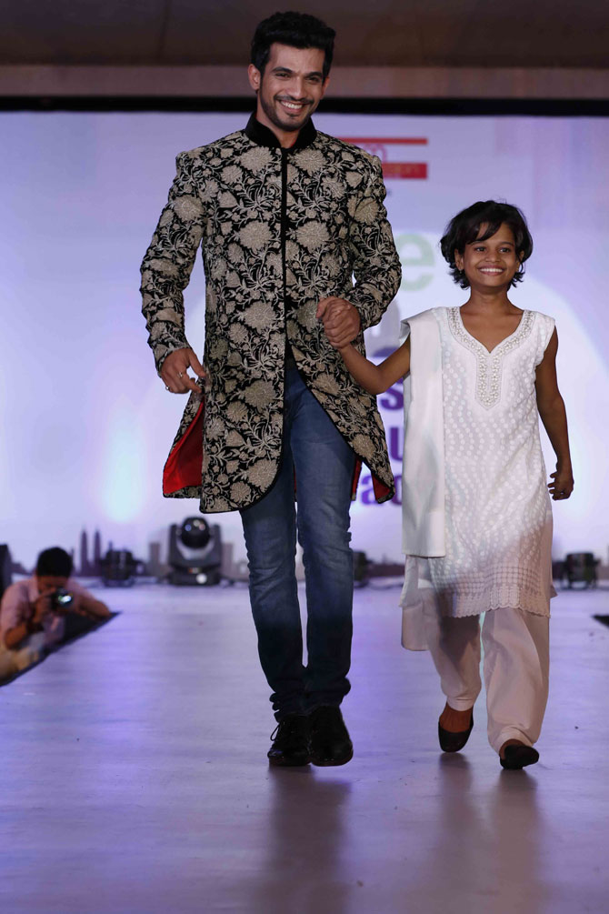 Bollywood Celebrities Walked The Ramp with Children at A Special Fashion Show