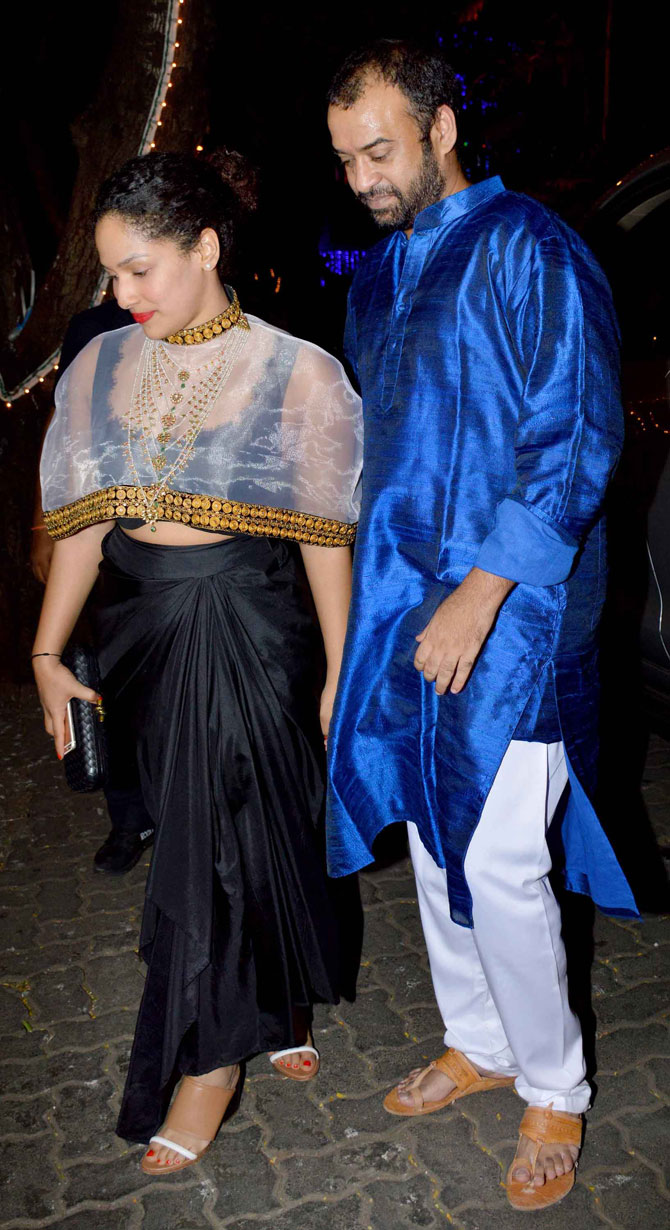 Bollywood Celebs at Anil Kapoors Diwali Bash 2015