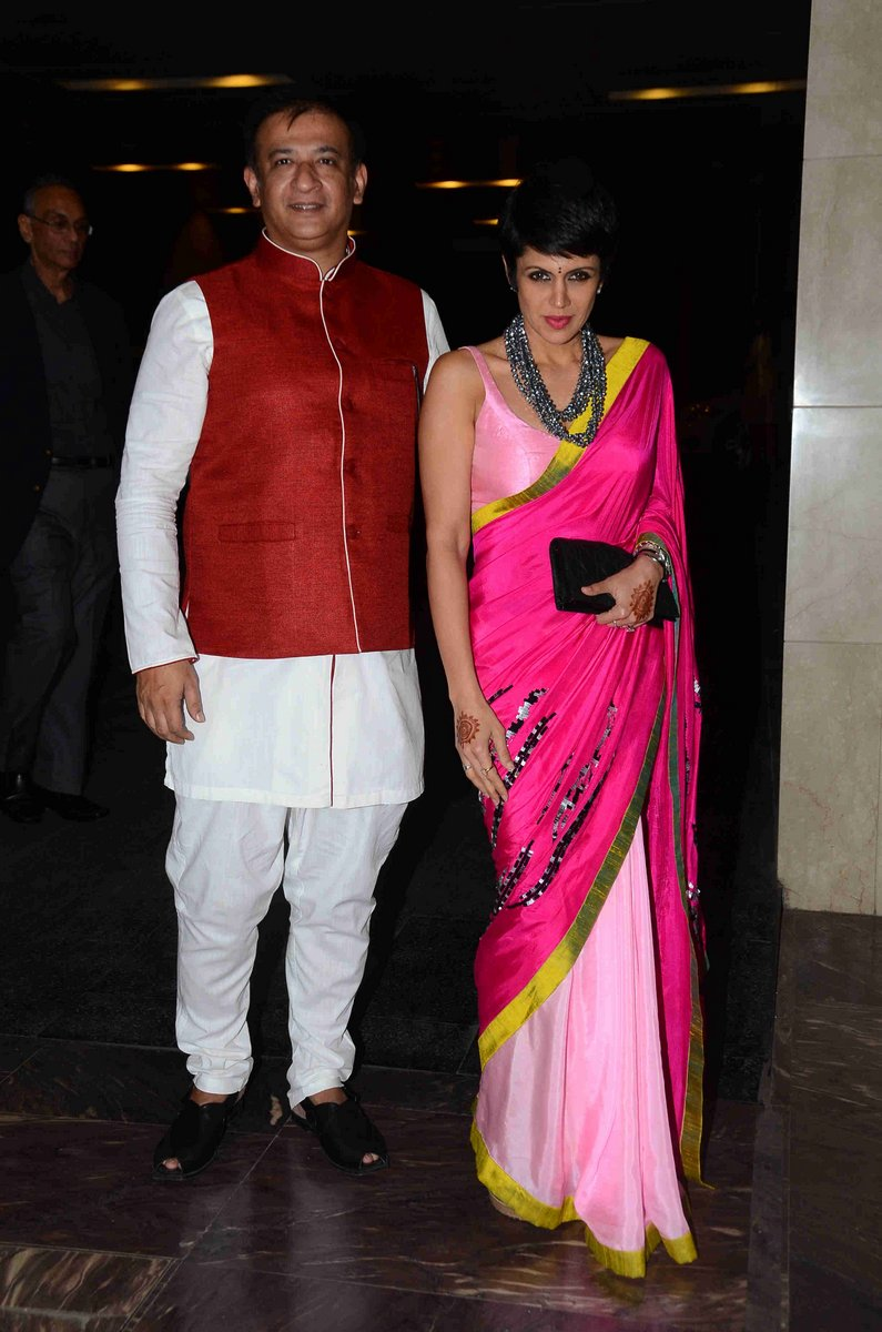 Bollywood Celebs Attend A Masaba-Madhus Wedding Reception