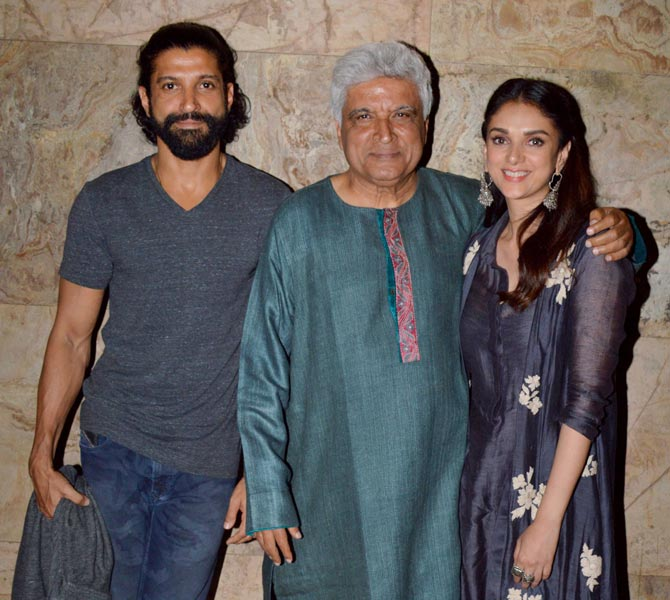 Bollywood Celebs Attended The Screening of Wazir