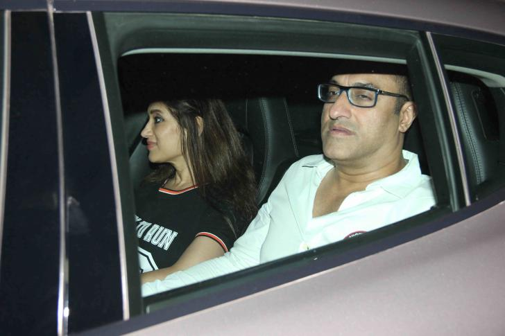 Bollywood Celebs Special Screening Jazbaa at Yashraj Studios