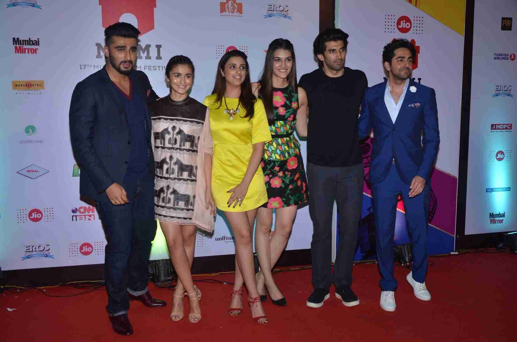 Bollywood Stars Attended The MAMI Movie Mela at Mehboob Studios