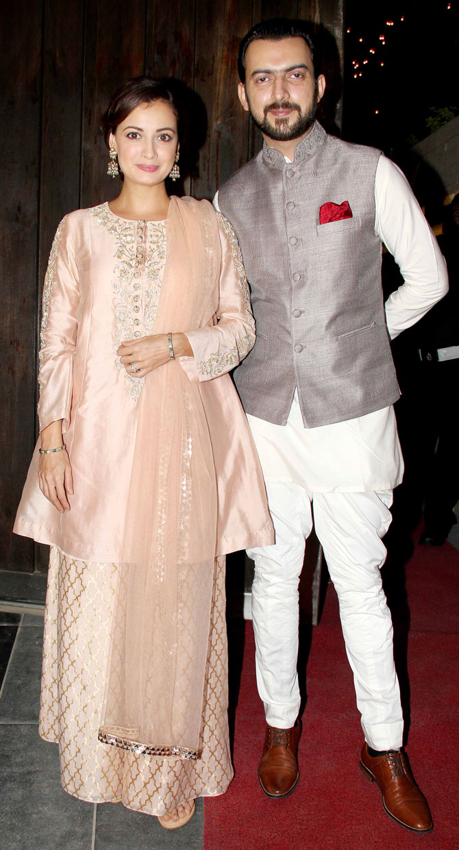 Bollywood Stars Attended Sachiin Joshi and Urvashi Sharmas Diwali Party 2015