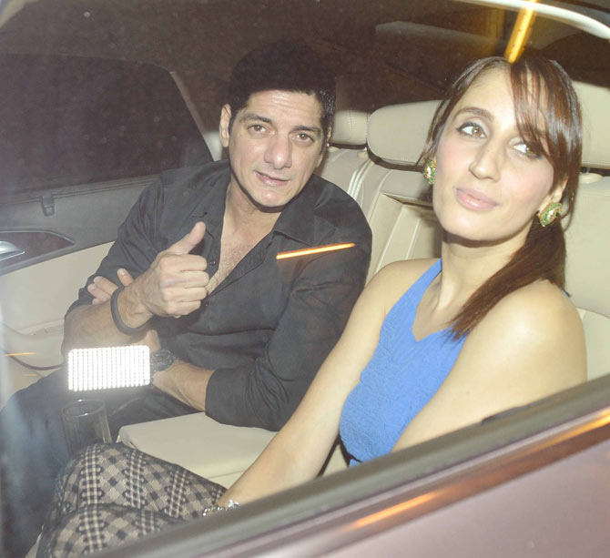 Bollywood Stars At Preity Zintas Bash Photos