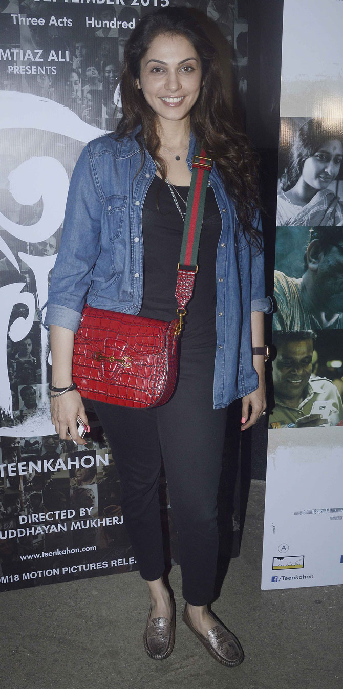 Bollywood Stars Special Screening of Bengali filmTeenkahon in Mumbai