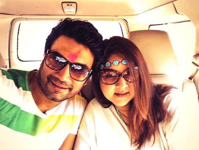 Bollywood & TV Stars Celebrate Holi with Family & Friends