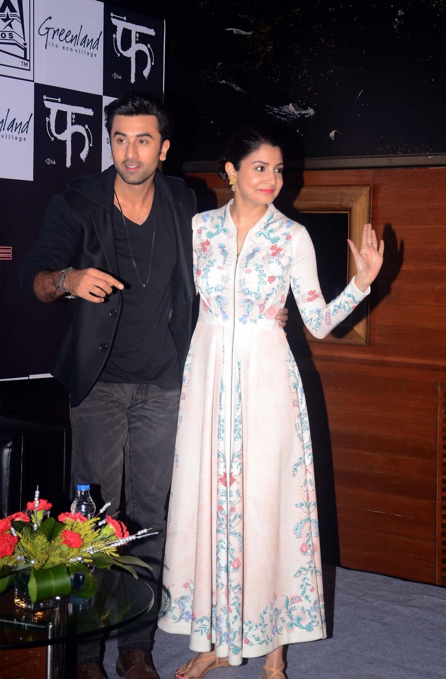 Bombay Velvet Movie Press Conference in Kolkata