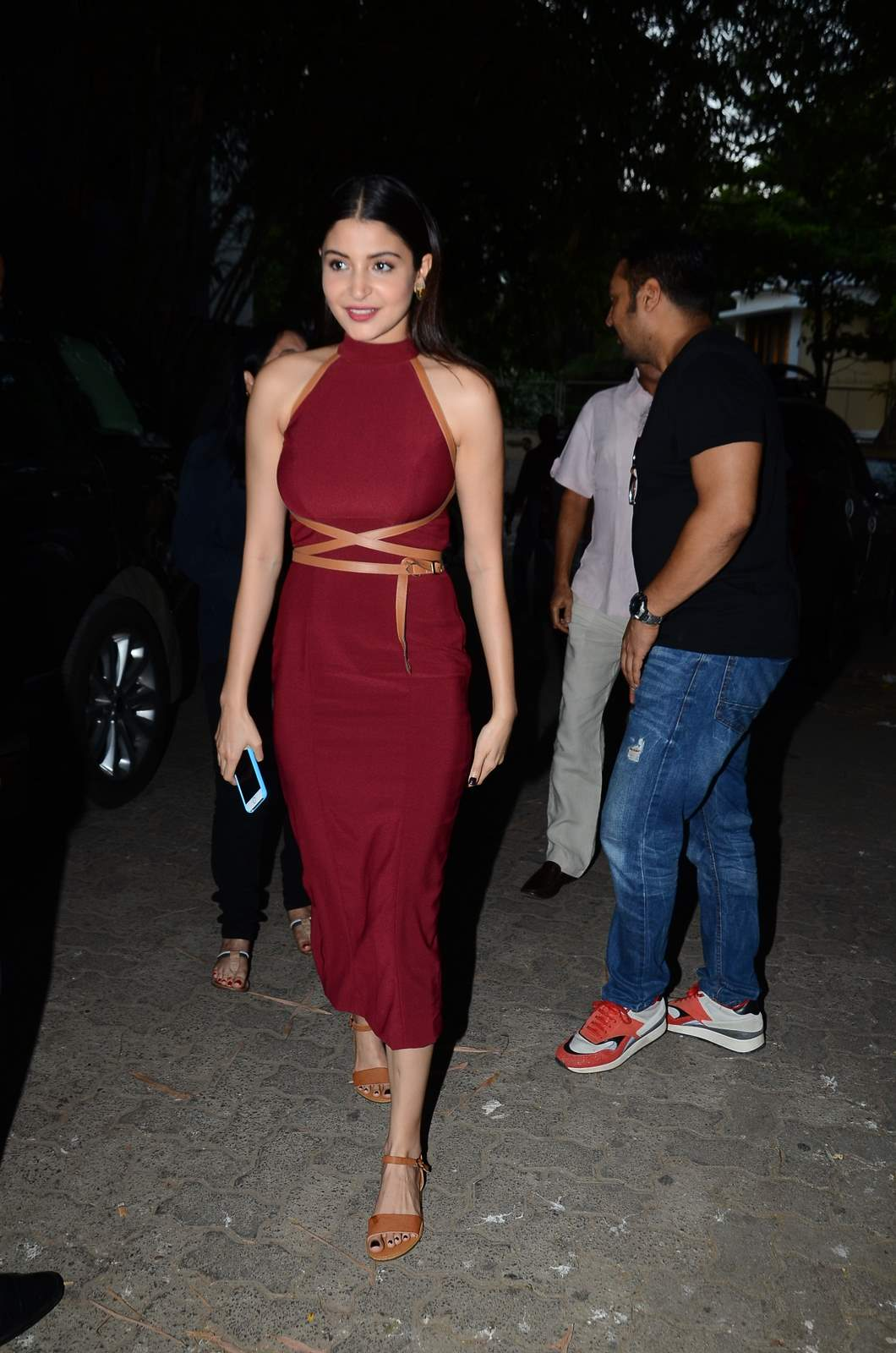 Bombay Velvet Screening : Anushka Sharmas B-Day Bash