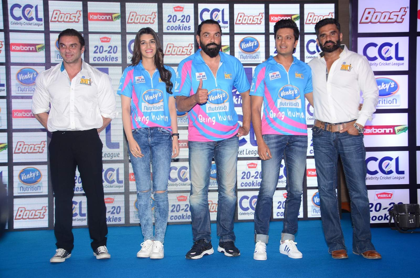 Celebrity Cricket League (CCL) Season 6 Press Conference in Mumbai