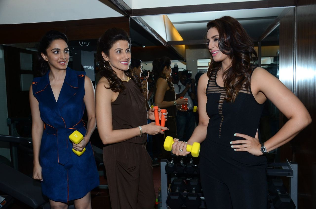 Celebrity Trainer Yasmin Karachiwala Launch Her First GYM