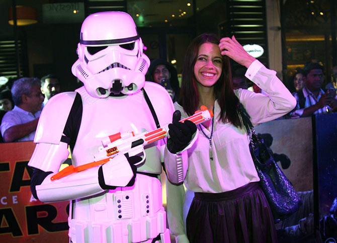 Celebs Screening Of Star Wars-The Force Awakens