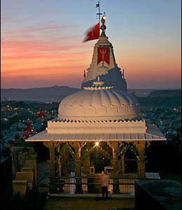 Chamunda Devi Temple Dome View