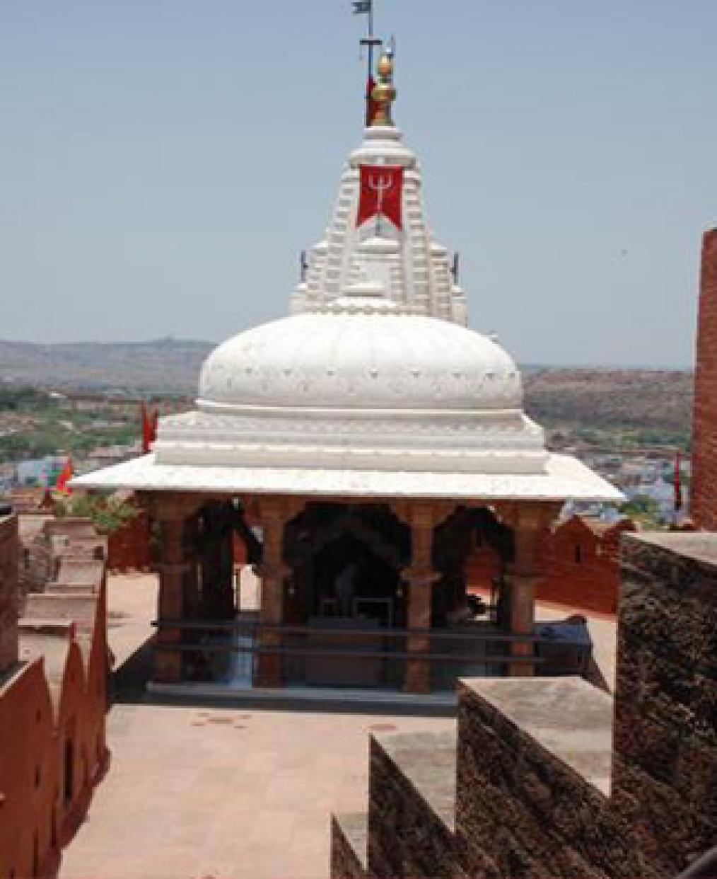Chamunda Devi Temple Close View