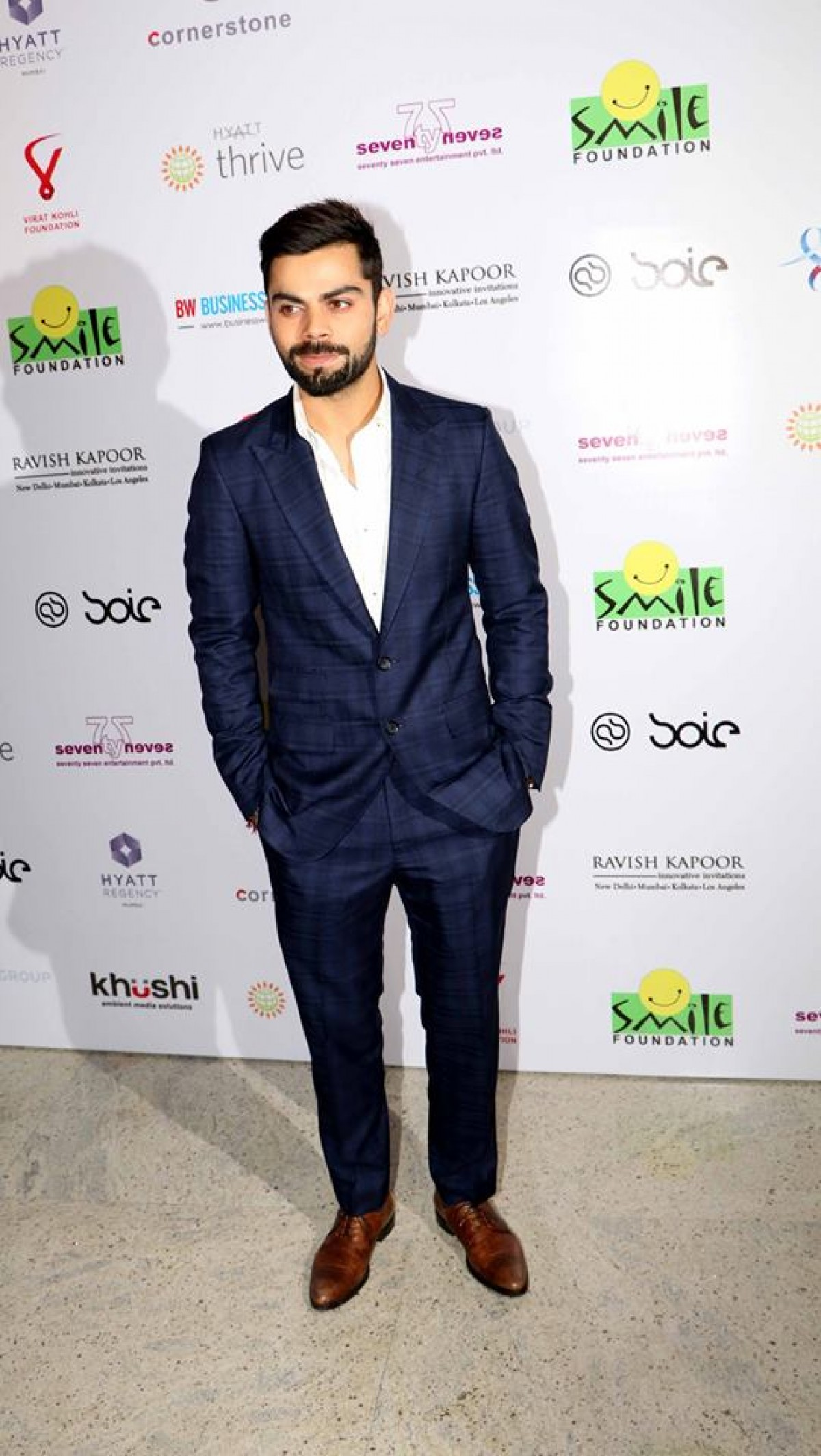 Charity dinner hosted by Virat Kohli foundation