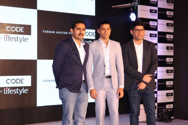 Code by Lifestyle - announces Farhan Akhtar as Brand Ambassador