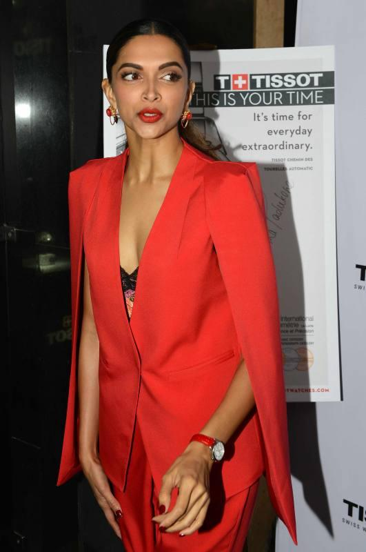 Deepika Padukone Launches Tissots New Watch Collection in New Delhi