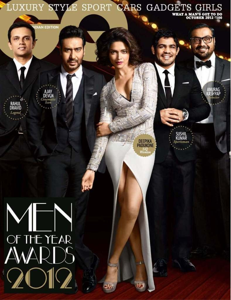 Deepika Padukone Photoshoot For GQ Magazine India October 2012