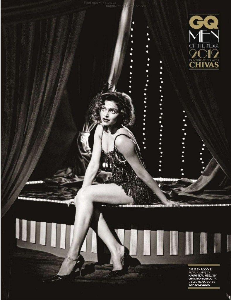 Deepika Padukone Photoshoot For GQ Magazine India October 2012 - 02