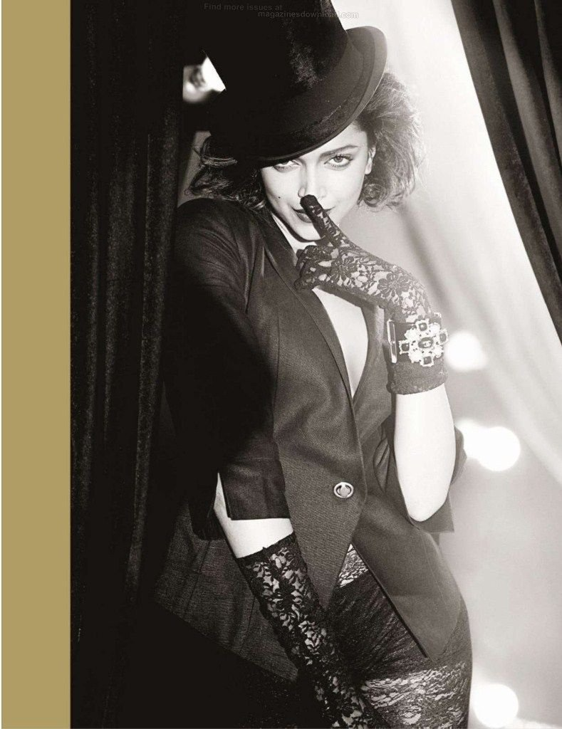 Deepika Padukone Photoshoot For GQ Magazine India October 2012