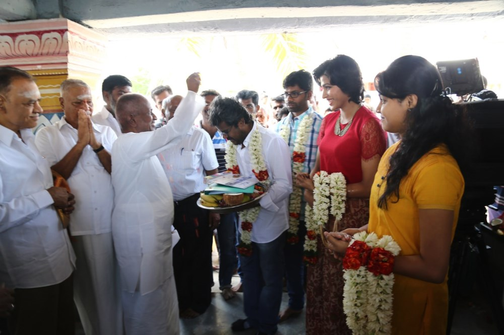 Dhanshika Tamil Actress Raani Movie Pooja Stills