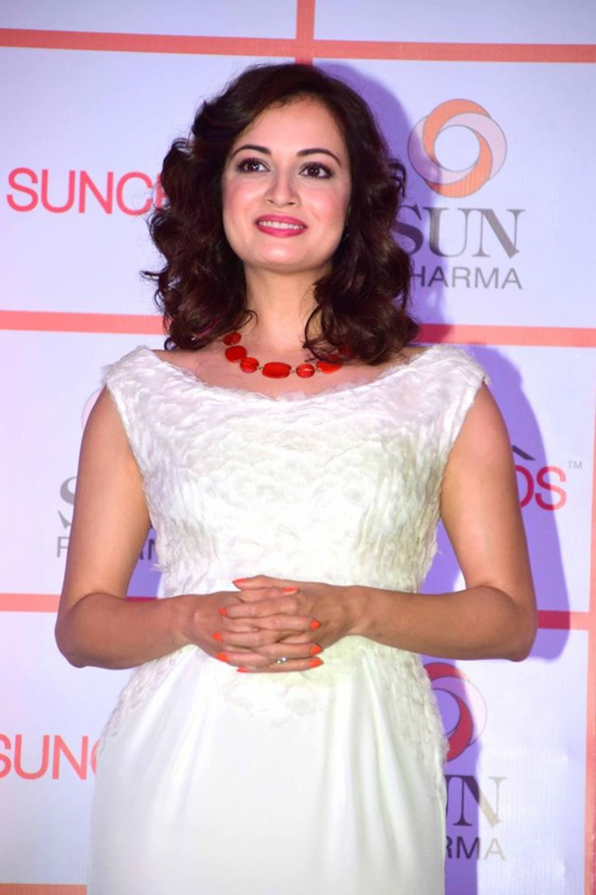 Dia Mirza Launch of Sun Pharmas Suncros Sunscreen in Mumbai