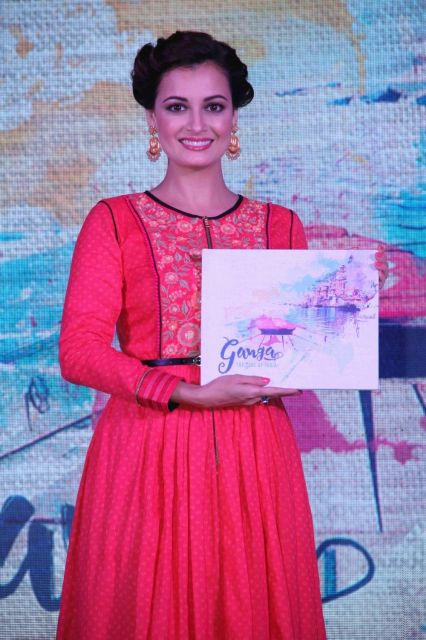 Dia Mirza launches TV travel show Ganga The Soul of India