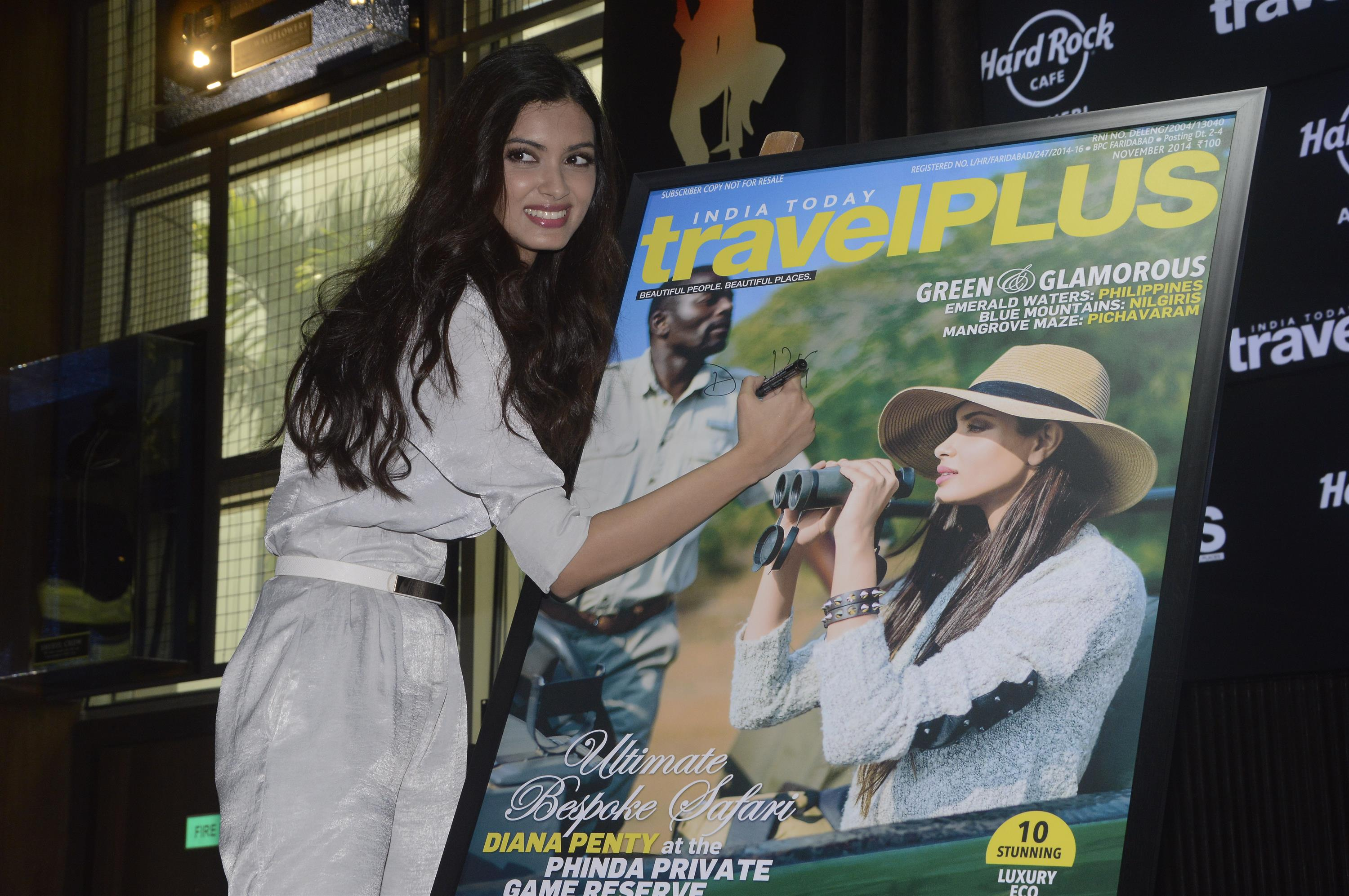 Diana Penty Launch Travel Plus Magazine