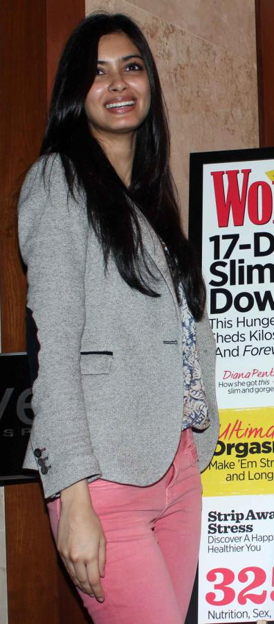 Diana Penty at Launch Of Womens Health New Year Double Issue