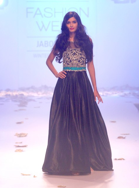 Diana Penty Walks The Ramp for Rocky S During Lakme Fashion Week 2014
