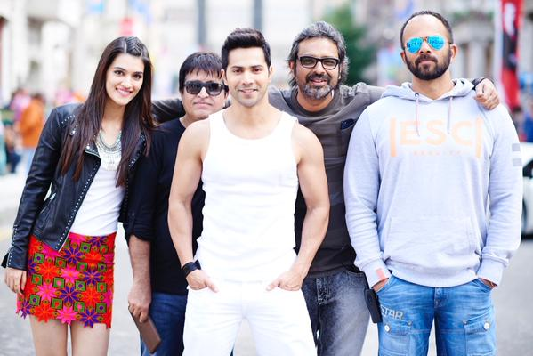 Dilwale Movie On Location Stills