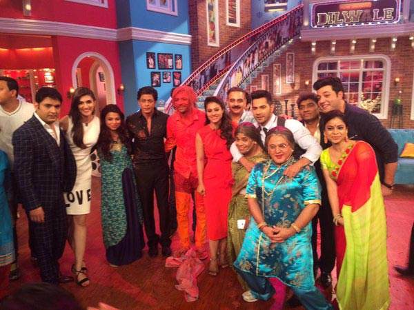 Dilwale Team On The Sets of Comedy Nights With Kapil