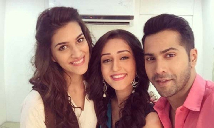 Dilwale Team On The Sets of Saath Nibhaana Saathiya
