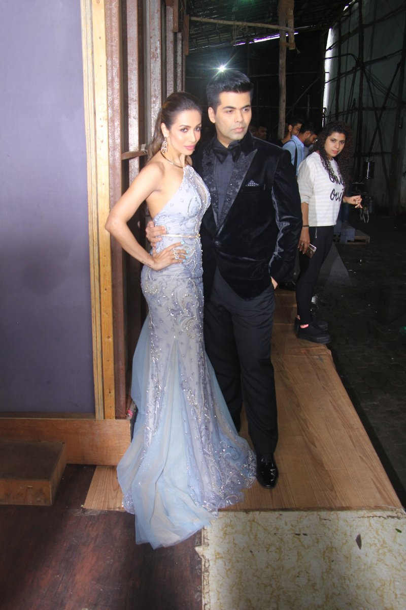 Malaika Arora Khan & Karan Johar