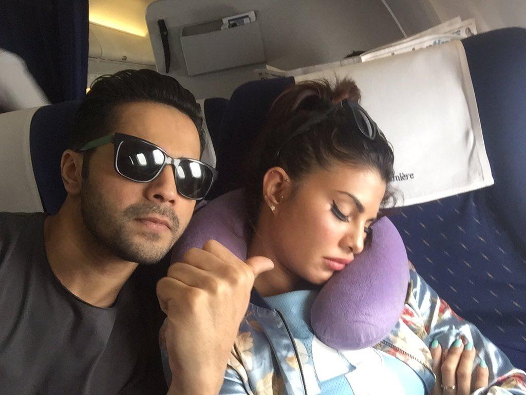 Varun Dhawan & Jacqueline Fernandez