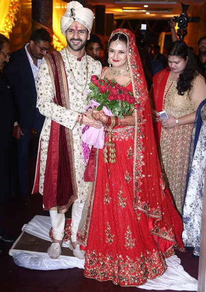 Divyanka Tripathi and Vivek Dahiya Wedding Ceremony Photo Gallery