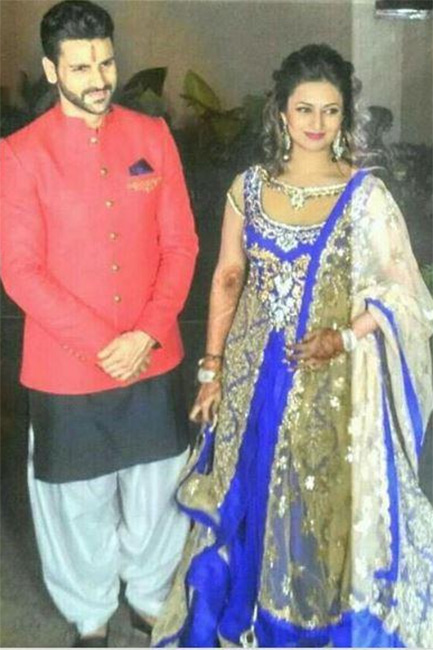 Divyanka Tripathi And Vivek Dahiyas Sangeet Ceremony