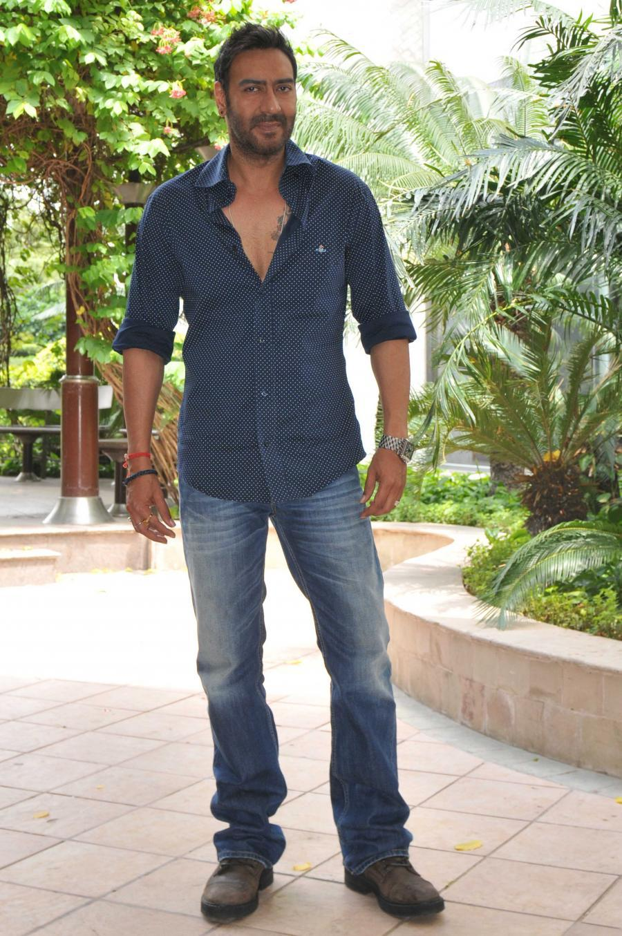 Drishyam Movie Promotions in New Delhi