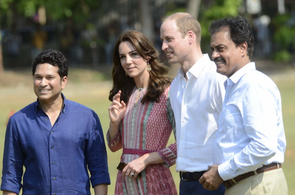 Duke and Duchess of Cambridge visit Mumbai